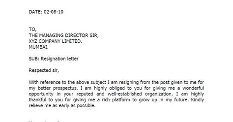 Resignation Letter Format Uae Fresh And Free Resume Sles For Resignation Letter Format