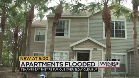 Apartment Complex For Sale Naples Fl Cleanup After Pipe Burst Frustrates Naples Apartment