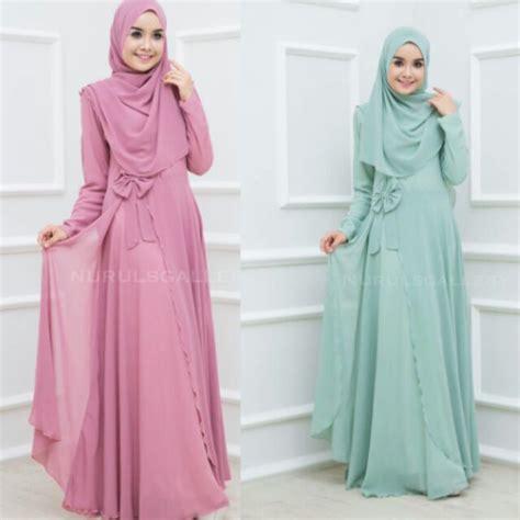 Muslimah Jubah For Dinner | maryam dress jubah muslimah baju dinner shopee malaysia