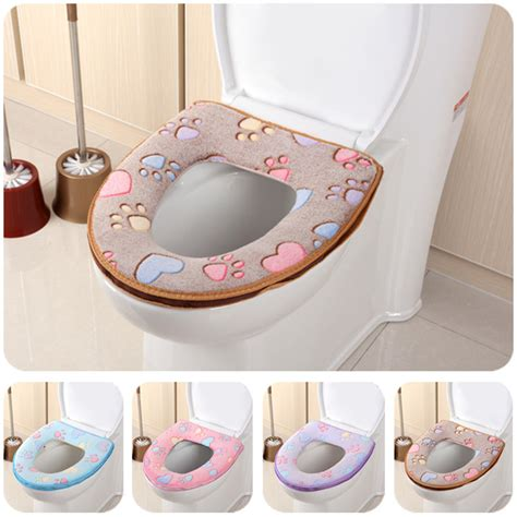 soft toilet seat covers new fashion household soft toilet seat cover washable