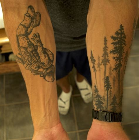 quot forearm astronaut and tree line s quot sleeve