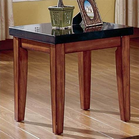granite table steve silver company montibello granite top end table mg700e