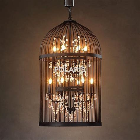 vintage birdcage chandelier vintage rustic birdcage chandelier lighting black