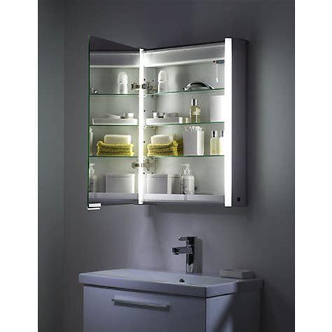double sided mirror bathroom cabinet buy roper rhodes plateau illuminated single bathroom