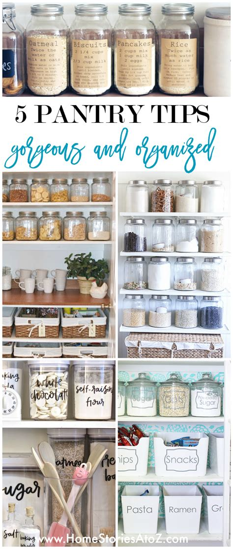 10 organizing ideas home stories a to z 5 tips for a gorgeous and organized pantry