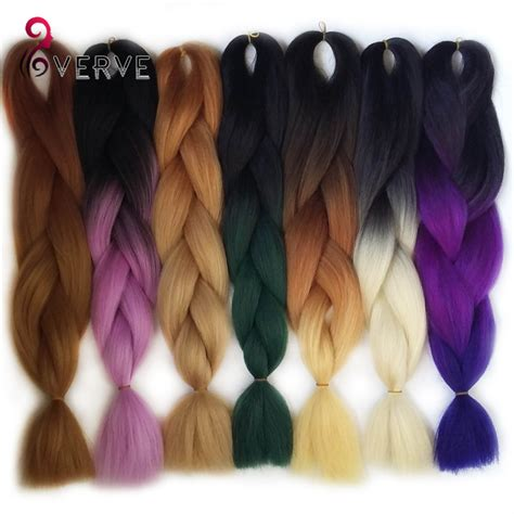 ombre synthetic braiding hair popular kanekalon jumbo braid buy cheap kanekalon jumbo