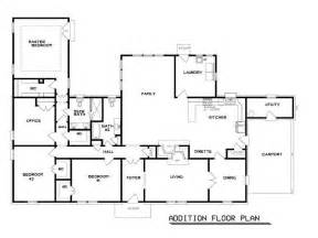 House Additions Floor Plans home floor plans popular floor plans in 60s with addition floor jpg