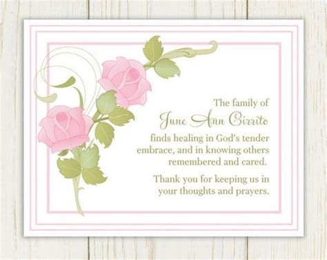 funeral flower card template funeral cards messages exles funeral card messages