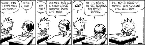 calvin hobbes on school susie is concerned about the