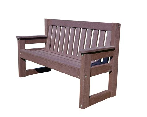 Dales Furniture by Recycled Plastic Outdoor Dale Bench Furniture