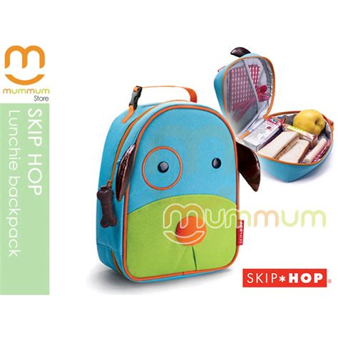Skip Hop Zoo Lunch Ki skip hop zoo lunchie insulated lunch box bag