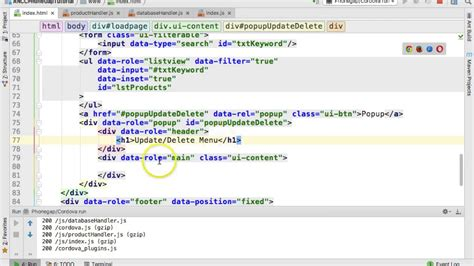tutorial phonegap jquery mobile jquery mobile popup tutorial youtube