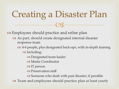 library disaster plan template images templates design ideas