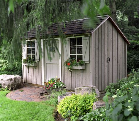 Backyard Shed Pictures by Grow Your Garden S Appeal Milana Cizmar