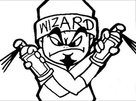 draw  graffiti character dynamic ll techno