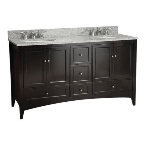 Foremost Vanities Website by Foremost Beca6021d Berkshire 60 Inch Espresso Bathroom