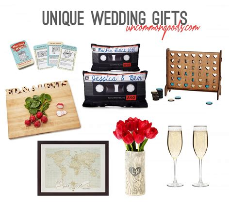 unique gifts ideas unique wedding gift ideas with uncommongoods rachel nicole