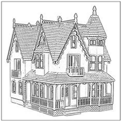 homes coloring pages for adults
