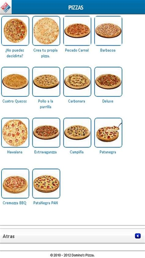 dominos pizza sizes inches dominos pizza venta online android apps on google play