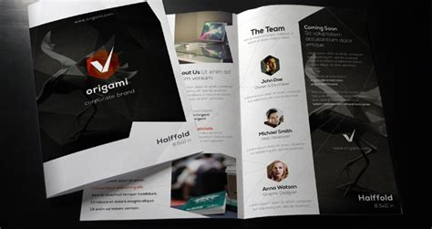 single fold brochure template 20 single fold brochure templates