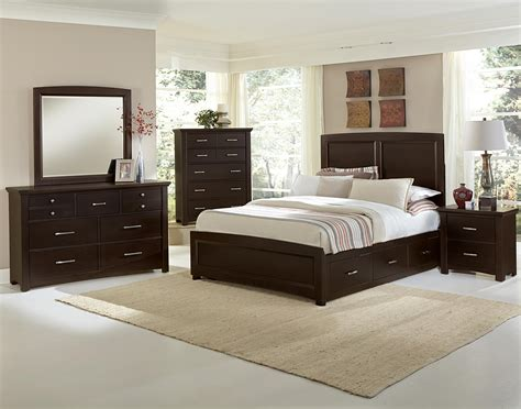 bedroom groups vaughan bassett transitions king bedroom group belfort
