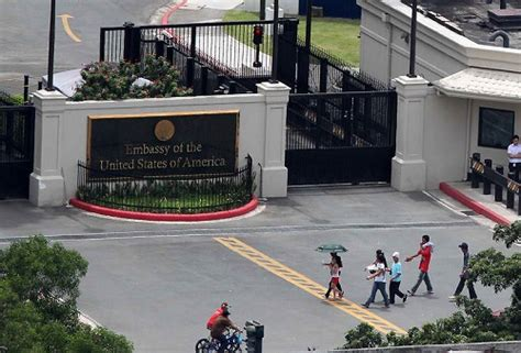 Us Embassy Manila Letterhead racial discrimination by the u s embassy in manila the