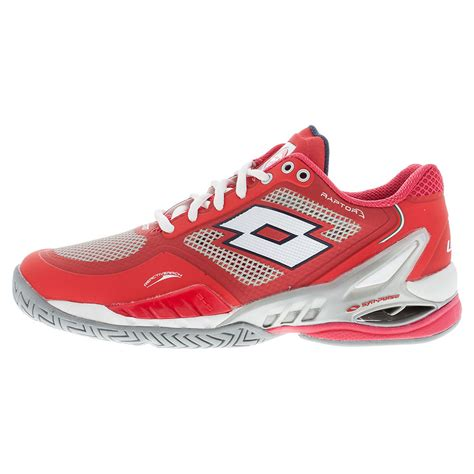 lotto womens raptor evo speed tns shoes rd wh