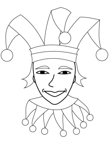 jester hat coloring page jester hat colouring pages sketch coloring page