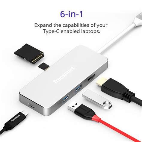 Charger Tronsmart Mobil 3 Slot Port Usb High Quality tronsmart type c 3 1 hub with type c charging port