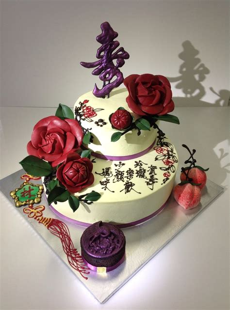 Cake Style by Style Birthday Cake With Camellias Cakecentral