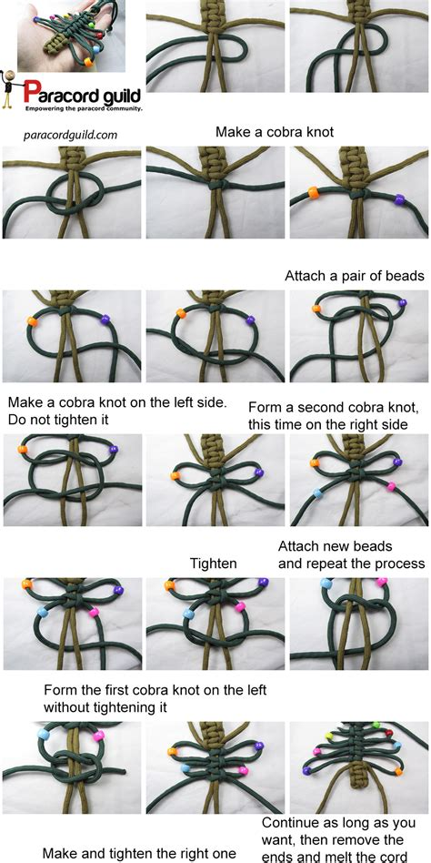 How to make a paracord Christmas tree   Paracord guild