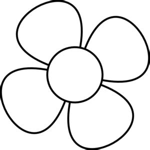 flowers clipart black and white flower black white clip at clker vector clip
