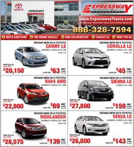 Car Lease Deals High Mileage Boston Toyota Dealers In Boston Ma Boston Expressway