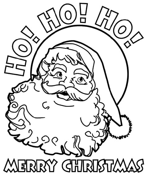 coloring pictures of father christmas christmas santa coloring page crayola com
