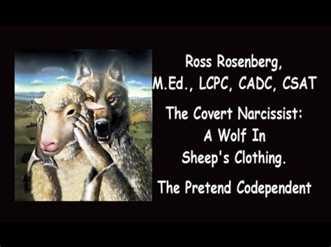 covert narcissists wolves in sheep s clothing cloaked