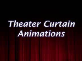 Curtain Slides Theater Curtain Animations
