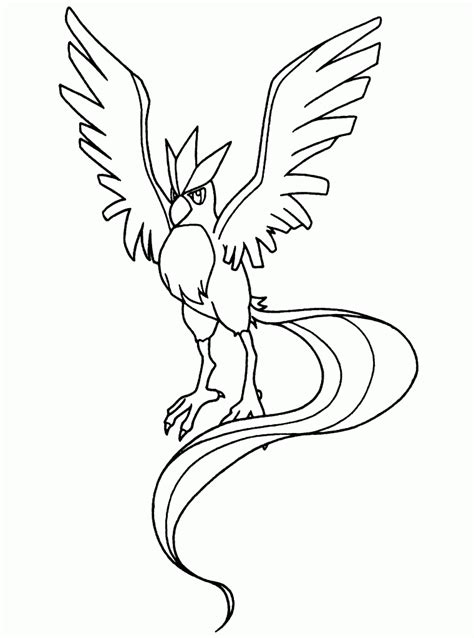 pokemon coloring pages articuno pokemon coloring pages join your favorite pokemon on an