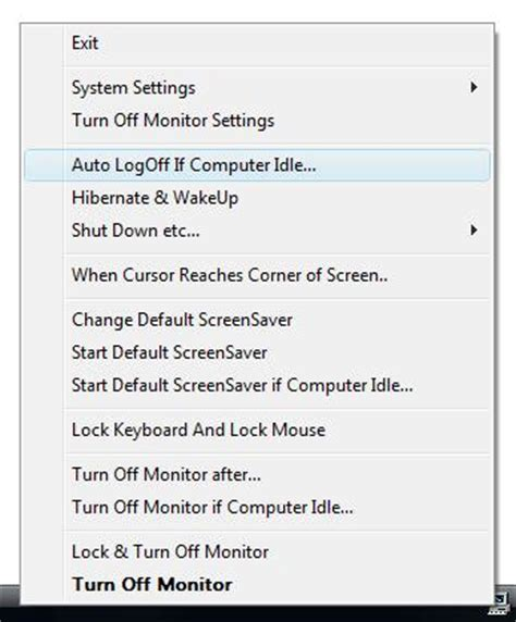 Windows 7 Auto Logout Time by Download Auto Logoff Software To Log Off Automatically If