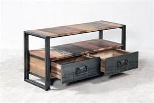 Beautiful Meuble En Teck Pour Salle De Bain #13: Meuble-tv-112-cm-evasion-2-tiroirs-iaddg-916-1.jpg