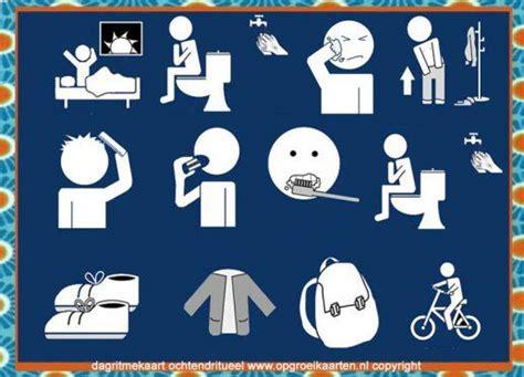 pictogrammen toilet bezoek 22 best images about dagritmekaarten on pinterest to be