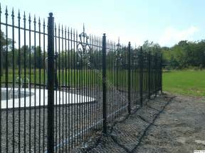 wrought iron fencing fence 179 jpg