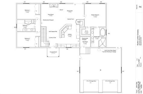 walk out basement floor plans walk out rambler floor plans out free home plans