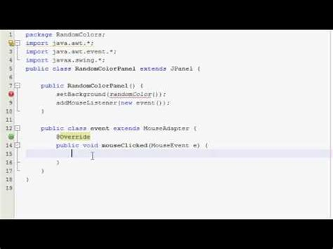java tutorial random java graphics tutorial 5 random color panels youtube