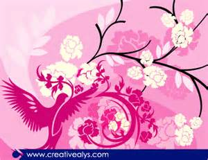 designing the beautiful beautiful floral background creative alys