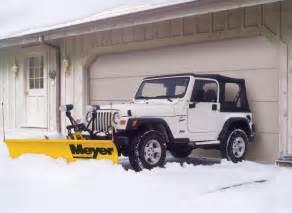 Jeep With Plow Meyer Snow Plows Kansas City Oklahoma City Cstk Cstk