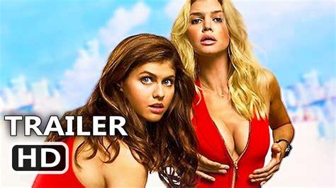 Watch Baywatch 2017 Extended Full Movie Baywatch Official Trailer 3 2017 Dwayne Johnson Zac Efron Alexandra Daddario Comedy Movie