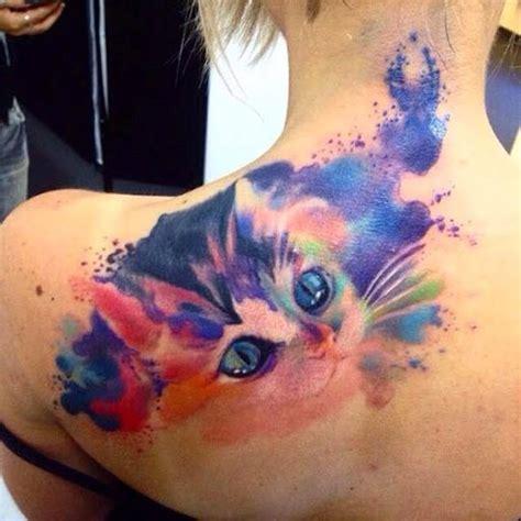 watercolor tattoo fail purrfect watercolor tattoo