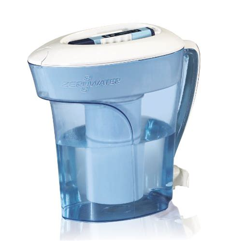 Pitcher Plumbing by Zerowater 10 Cup Pitcher With Free Tds Meter Total