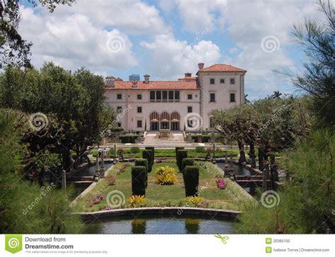 Vizcaya Palace And Gardens, Miami Stock Photo   Image