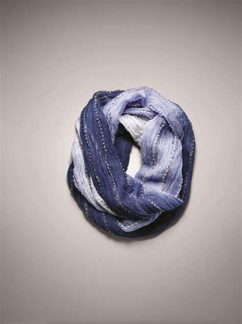 Simply Vera Vera Wang Debuts At Kohls by Forever Blue Horizontal Ombre Infinity Scarf Simply Vera